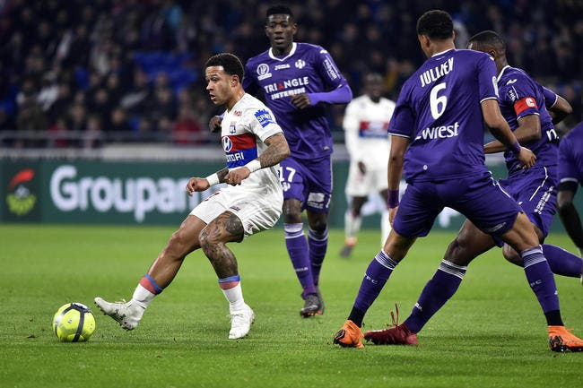 OL - Toulouse : 2-0