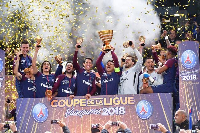 PSG : Neymar félicite ses coéquipiers pour la victoire en finale