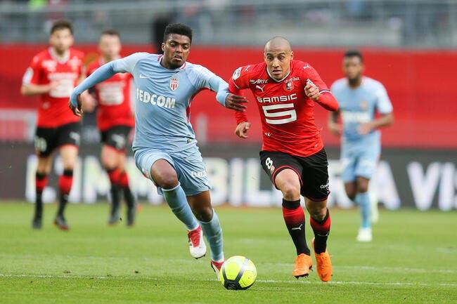 L1 : Avec 1 point, Monaco s'en tire très bien à Rennes