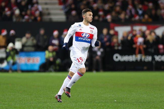 Amine Gouiri, premier contrat professionnel — Lyon