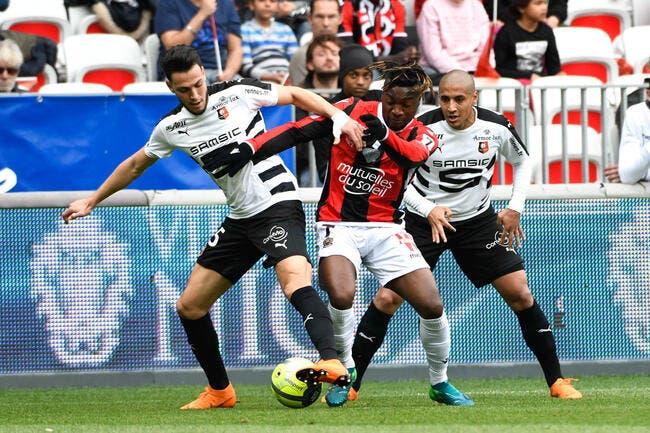 Nice - Rennes : 1-1