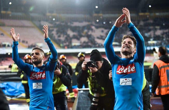 Série A : Naples n'est pas mort !