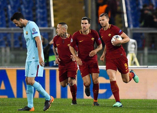 La Roma colle une remontada au Barça!