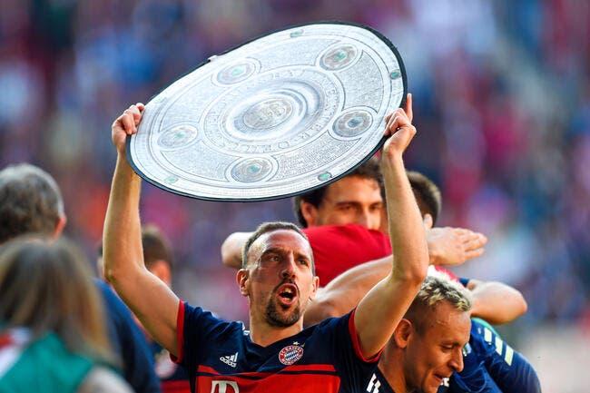 Bayern: Le show Ribéry va continuer