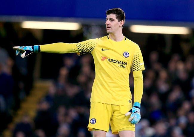 Courtois pas insensible au PSG — Chelsea