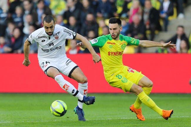 Nantes - Dijon : 1-1