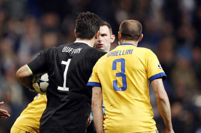 Real-Juve : Buffon revient sur le pénalty, et maintient ses propos