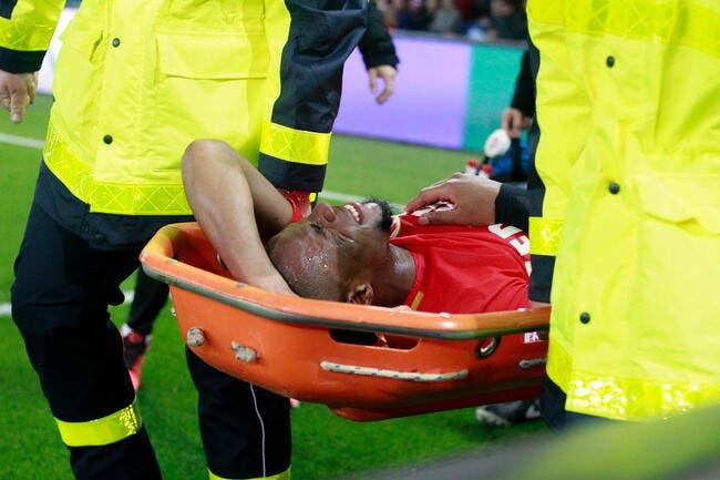 Monaco : Lésion du genou droit confirmée pour Sidibé