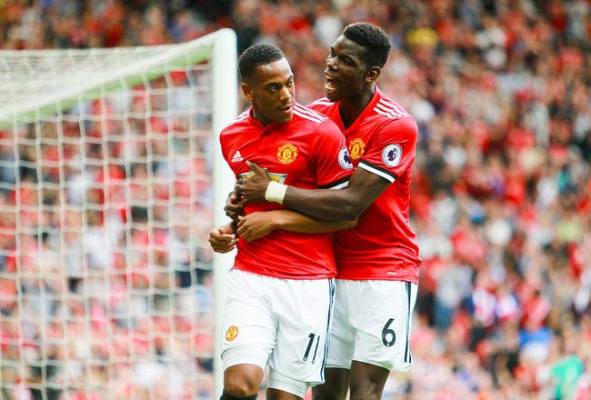 Mercato : Mourinho fait le ménage, Pogba et Martial vont sauter