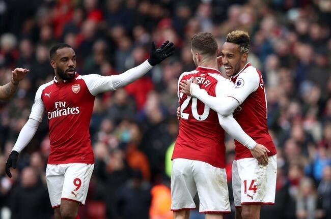 OL, ce que Lacazette a fait pour Aubameyang à Arsenal — ASSE