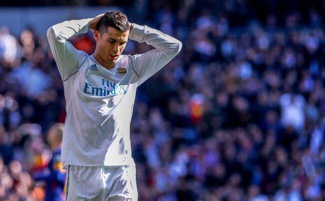 Esp : Cristiano Ronaldo dans une sale posture
