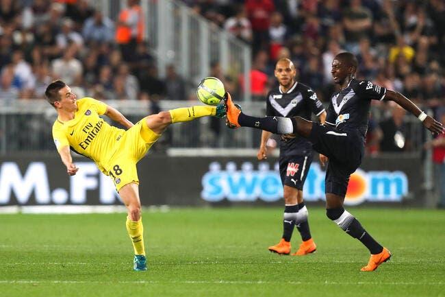 Bordeaux - PSG : 0-1
