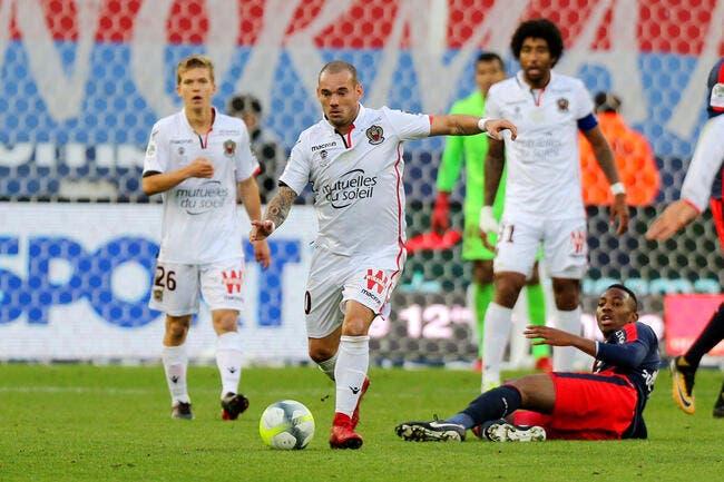 OGCN : Gros bug du mercato, Sneijder défonce Favre