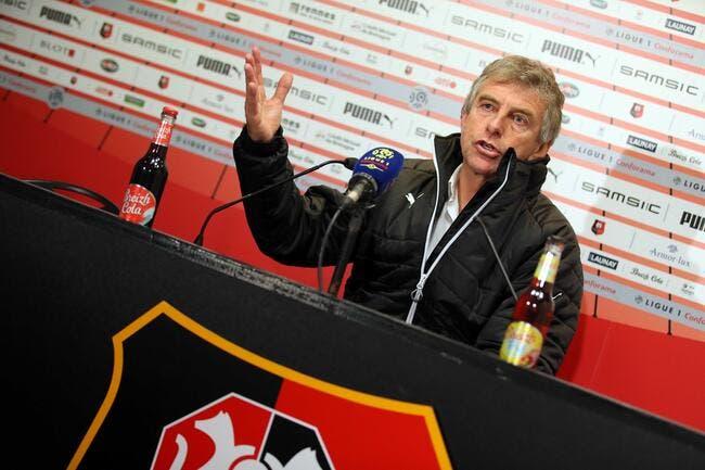 Christian Gourcuff vide son sac et allume le fils Pinault — Rennes