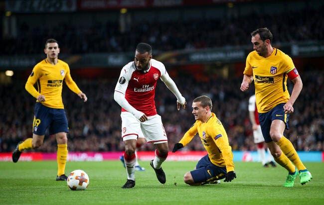 EL : Griezmann répond à Lacazette, Arsenal et l'Atlético dos à dos