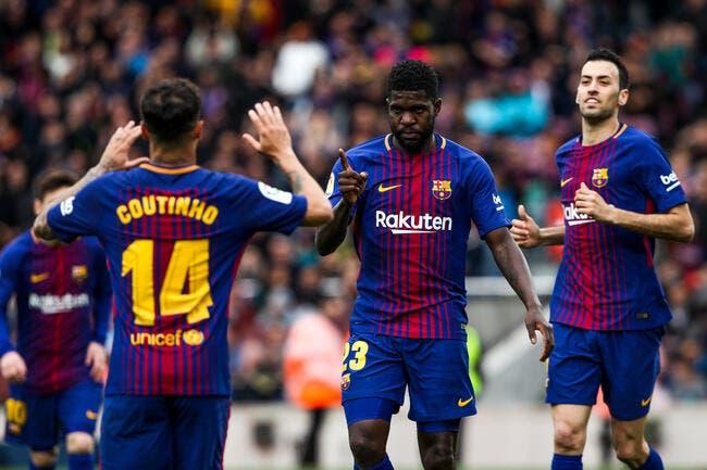 Mercato: Le Barça envoie un message limpide à Umtiti