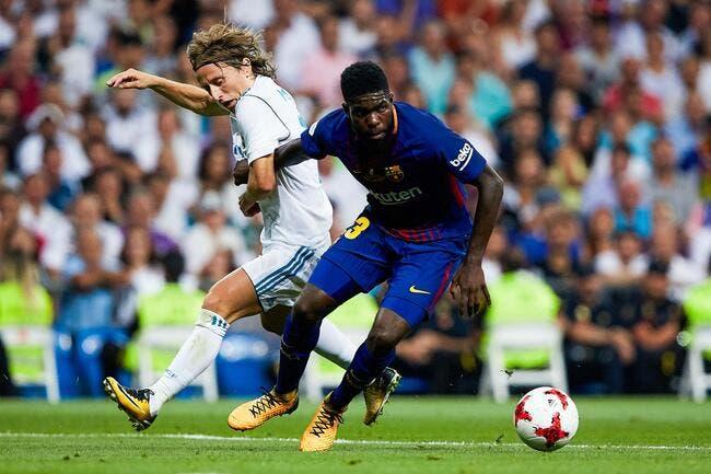 Esp: Le Barça galère, le Real saute sur l'occasion Umtiti!