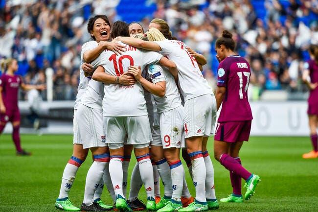 LdC Fem : OL-Manchester City : 1-0