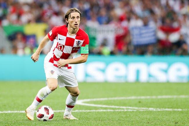 Esp : Le Real Madrid réclame 750ME à l'Inter pour Luka Modric !