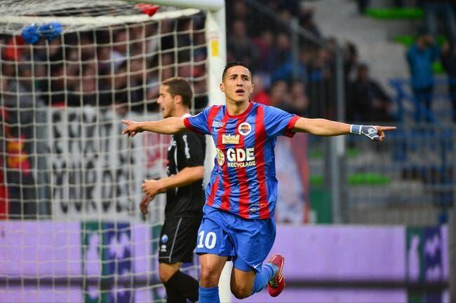 Mercato : Fayçal Fajr revient à Caen