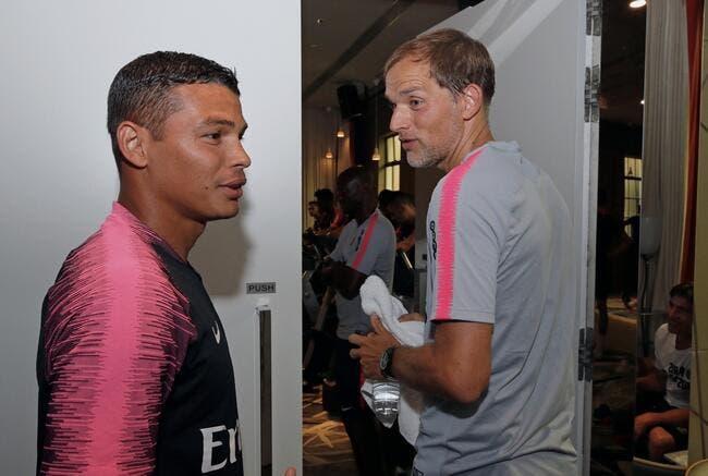 PSG : Thiago Silva et Thomas Tuchel, c'est le grand amour !