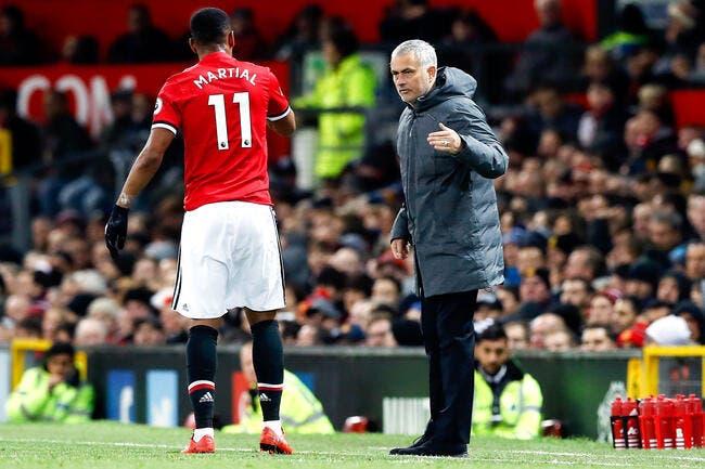 Entre Martial et Mourinho, le clash sera plus long que prévu