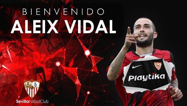 Officiel : Aleix Vidal quitte le Barça et signe pour 8,5ME à Séville