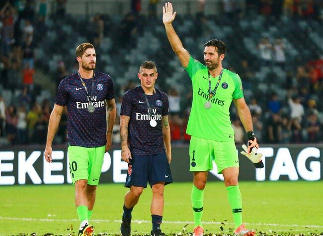 PSG : Trapp fait un geste d'une classe énorme envers Buffon