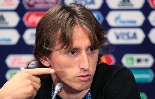 Mercato : Le Real Madrid hausse le ton et sort les barbelés pour Modric !