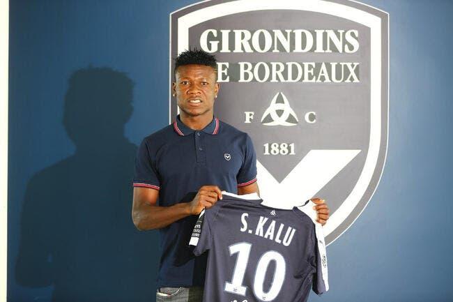 Officiel : Samuel Kalu signe jusqu'en 2023 à Bordeaux