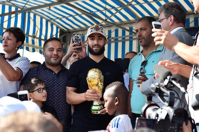 OL : Champion du monde, Nabil Fekir n'a pas pris le melon !