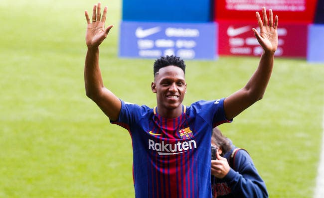 OL : Intransigeant, le Barça exige 40ME pour Yerry Mina !