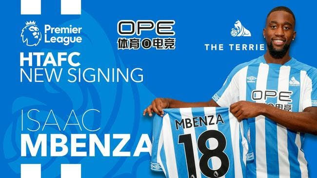 Officiel: Montpellier prête Mbenza à Huddersfield