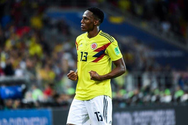 OL: Yerry Mina ne viendra pas, le Colombien a choisi Everton
