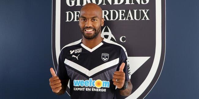 Officiel: Briand signe à Bordeaux avec le sourire
