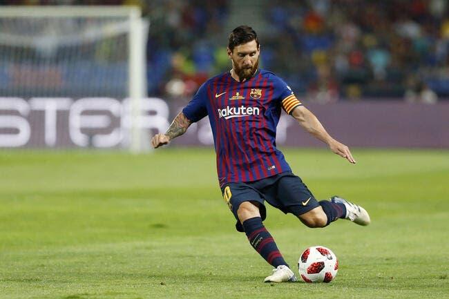 Supercopa : Dembélé offre un trophée au Barça et un record à Messi