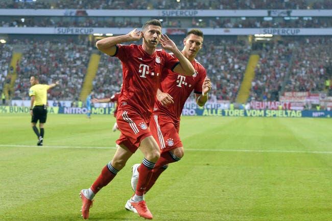 Supercoupe d'Allemagne : Le Bayern Munich écrase Francfort
