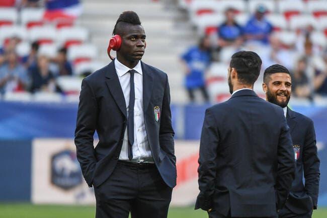 OM : Et maintenant, Balotelli est proposé à des seconds couteaux italiens !