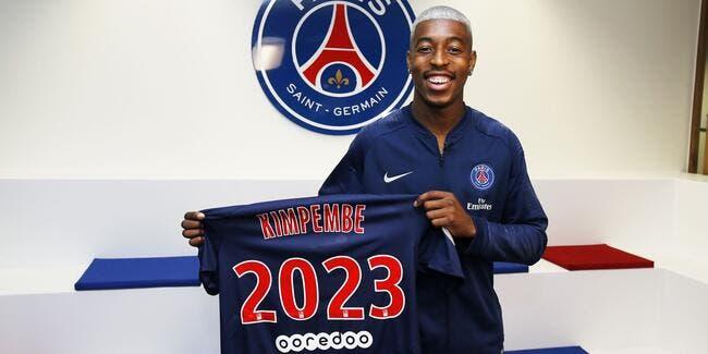 PSG : Kimbempe prolonge jusqu'en 2023 au PSG !