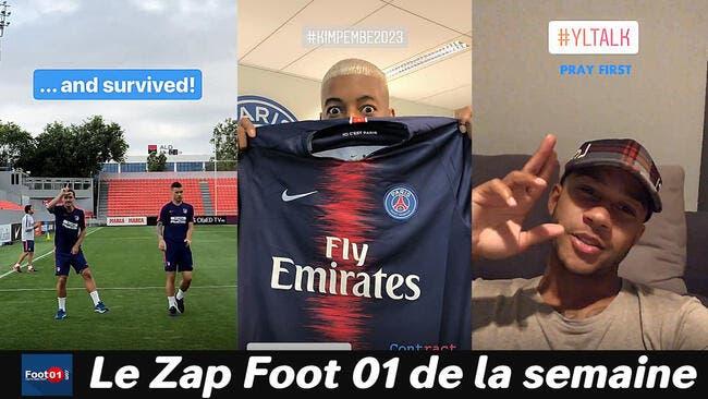Balotelli en roues libres, Enzo Zidane se lâche, Daniel Alves the Voice au PSG