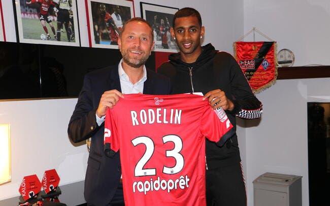 Officiel : Rodelin quitte Caen et signe à Guingamp