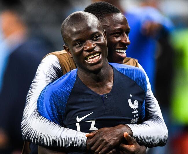 EdF : N'Golo Kanté avoue un amour éternel pour le maillot français