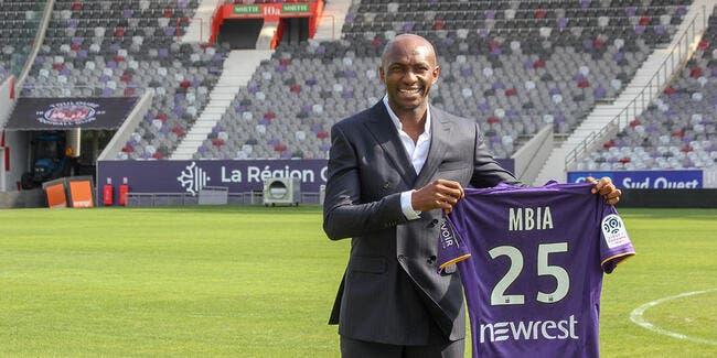 Officiel: Mbia revient en L1 et signe à Toulouse