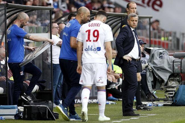 OL: Grave blessure pour Gouiri