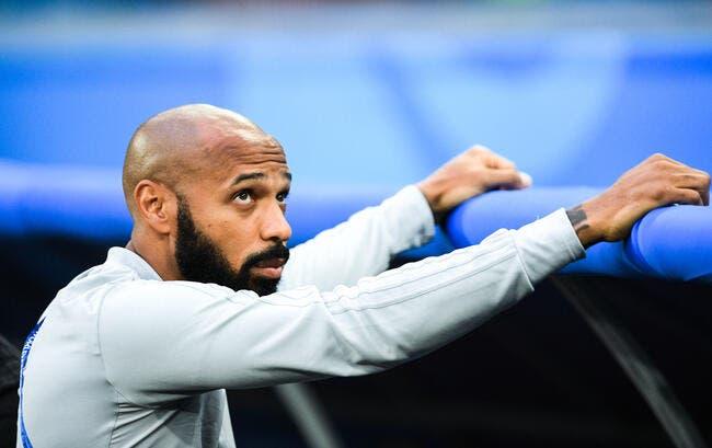 Bordeaux : Thierry Henry ne refuse pas le poste d'entraîneur !
