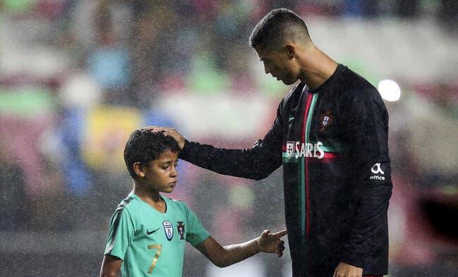 Cristiano Ronaldo rêve de voir son fils lui succéder