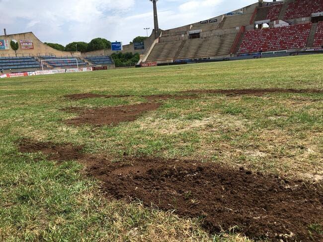 Le match Béziers Lens reporté à cause de sa pelouse