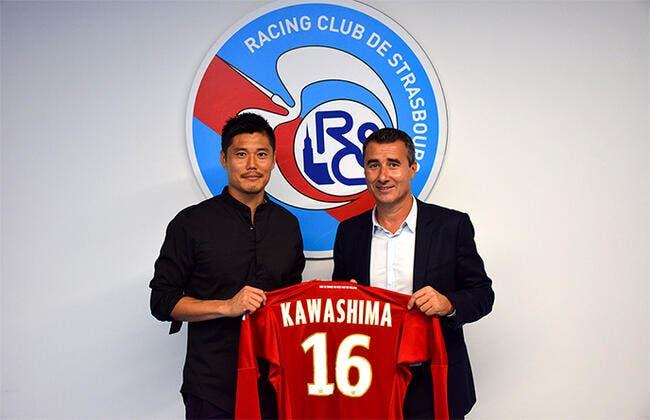 L1 : Kawashima signe à Strasbourg