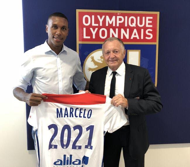 OL : Marcelo prolonge jusqu'en 2021