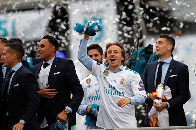 LdC : Modric meilleur joueur devant Cristiano Ronaldo et Salah